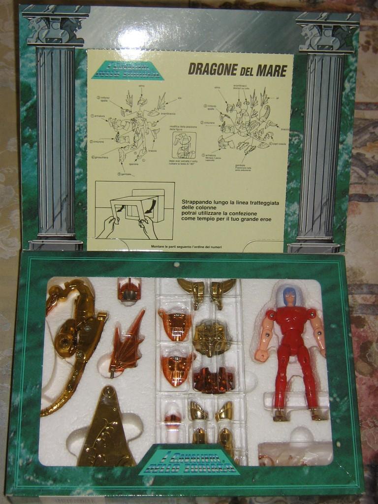 Vendo CAVALIERI DELLO ZODIACO SCATOLA TEMPIO 1989 Dragon12
