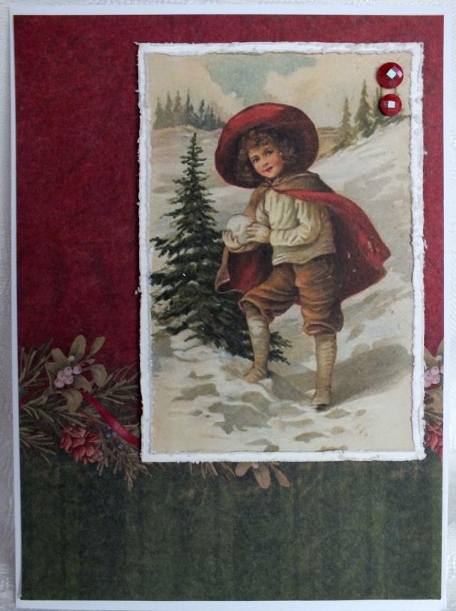 12 décembre, carte: petit garçon Dscf0915