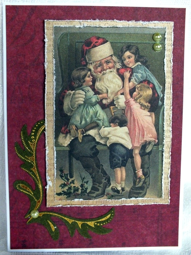 4 décembre-inspiration carte: Père-Noël Dscf0916