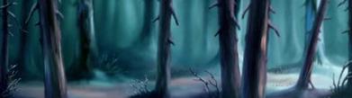 La Forêt aux aurores boréales