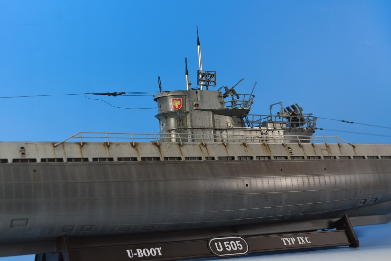 Mein U-Boot Typ IX von Revell in 1:72 Dsc_0028
