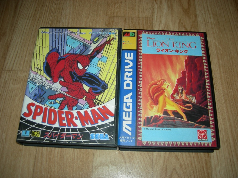 My collec ! Retro un jour.............. Spider10