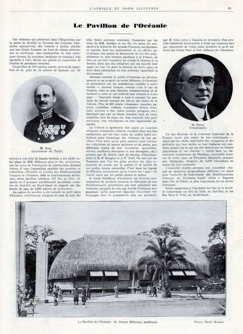 Exposition Coloniale Internationale de Paris 1931 - Page 3 016510