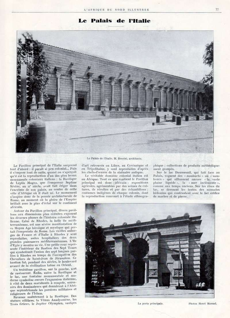 Exposition Coloniale Internationale de Paris 1931 - Page 3 017710