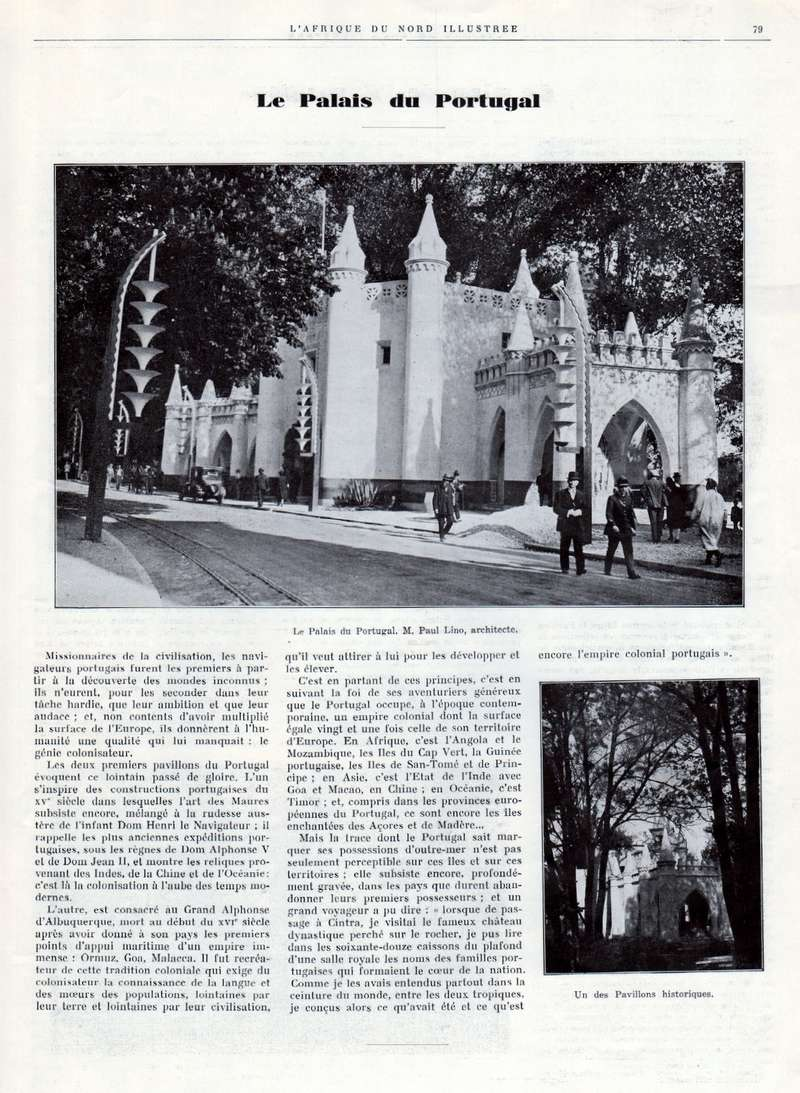 Exposition Coloniale Internationale de Paris 1931 - Page 3 017910