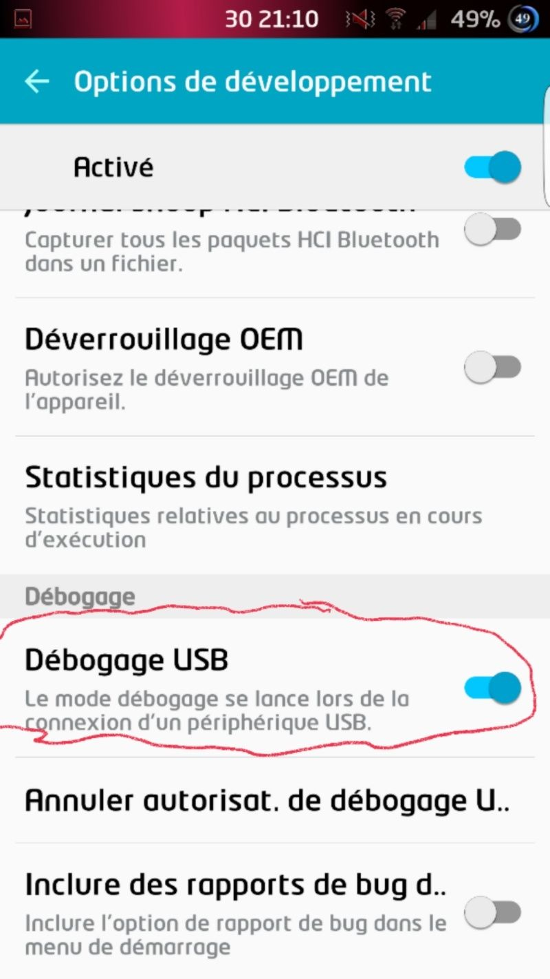 Rooter son GALAXY Note 4 N910F sous Android  6.0.1 (CFROOT-CHAINFIRE) 510