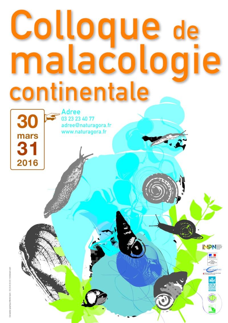 Colloque de malacologie continentale 30 & 31 mars 2016 Colloq10