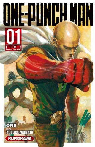 Le manga One-Punch Man frappe fort dès sa sortie en France 97823610
