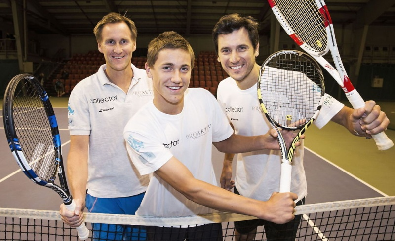 Норвежский теннис.  CASPER RUUD (Каспер Рууд) и Viktor Durasovic 23493210