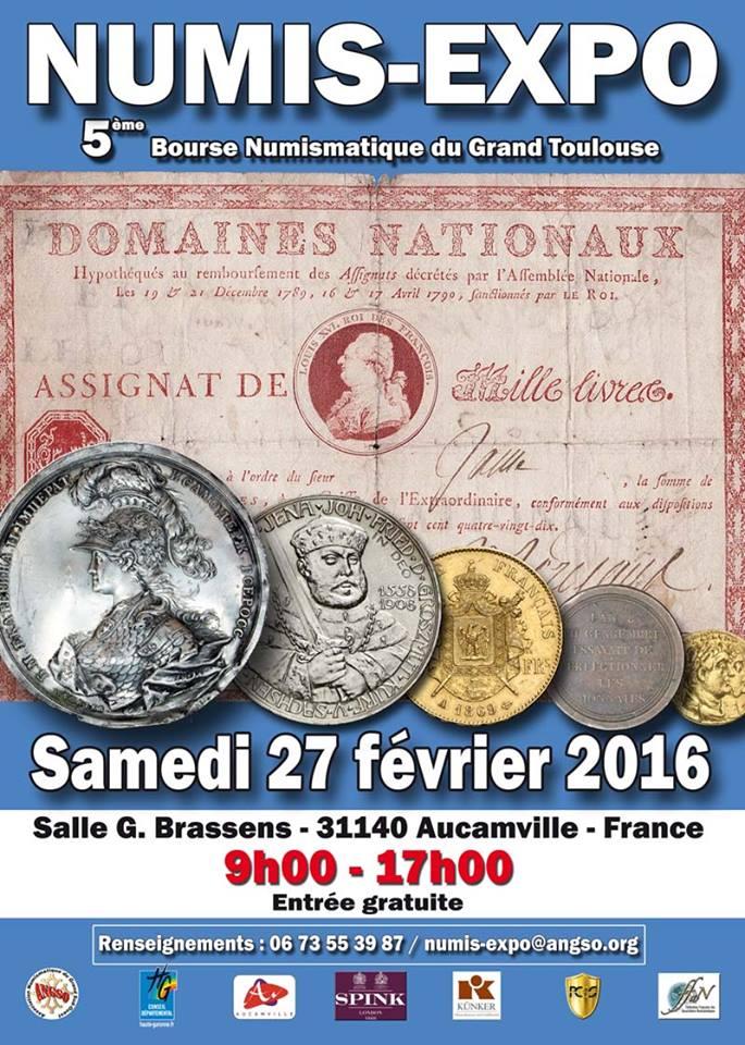 NumisExpo 2016, Bourse numismatique du grand Toulouse, con ! 12548810