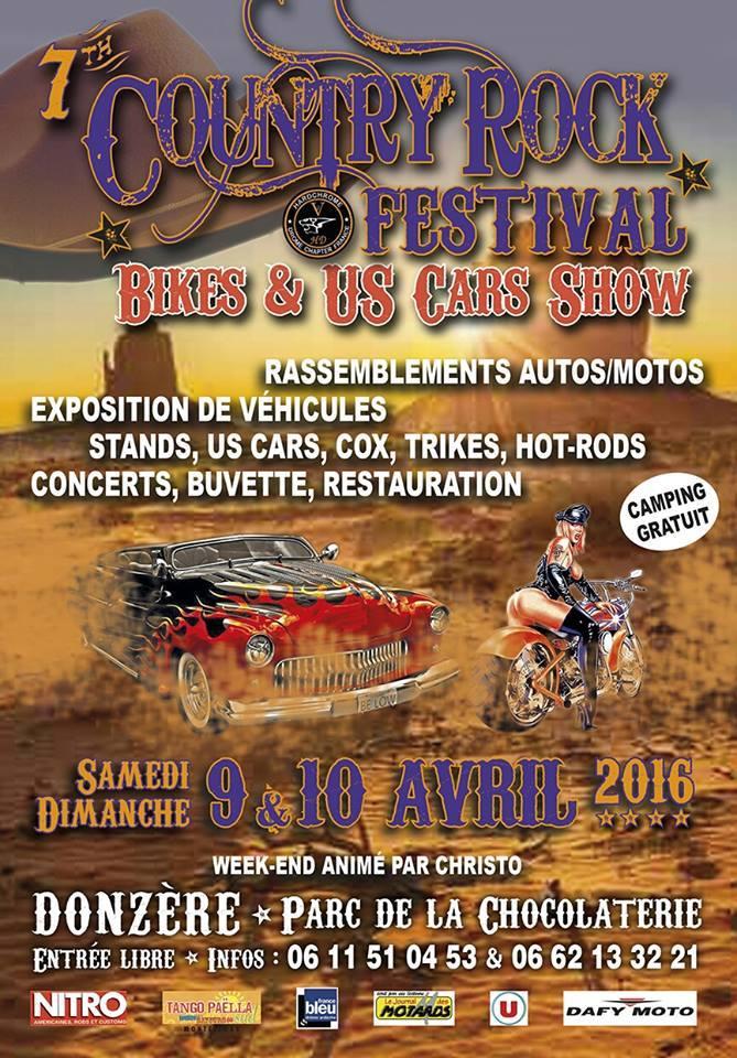 MANIFESTATION - country-rock festival 9 et 10 avril 12508910