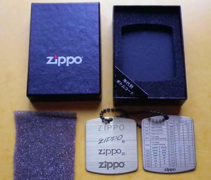 """objets de marque"""" zippo"""" de 2304pascal  - Page 5 Imgp0014"""