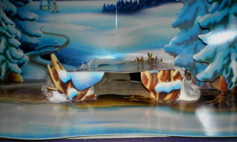 Weihnachtswelt mit PLAYMOBIL-Figuren und -Zubehör 004a2b11