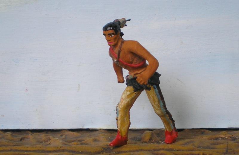 Bemalungen, Umbauten, Modellierungen – neue Indianer für meine Dioramen - Seite 4 108e5b10