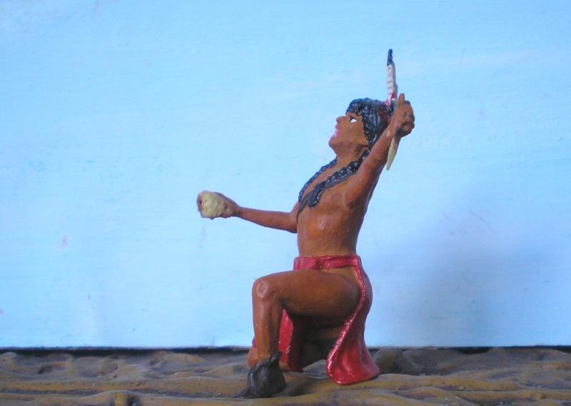 Bemalungen, Umbauten, Modellierungen – neue Indianer für meine Dioramen - Seite 4 115a2d10