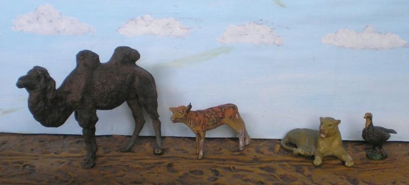 Bemalungen, Umbauten, Modellierungen - neue Tiere für meine Dioramen 20151158