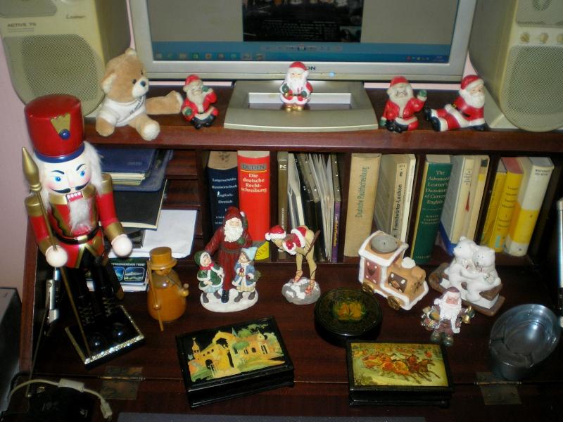 Figuren zur Weihnachtsdekoration - meine Sammlung, Restaurierungen & Bemalungen 20151161