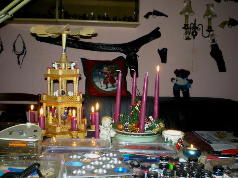 Figuren zur Weihnachtsdekoration - meine Sammlung, Restaurierungen & Bemalungen 20151172