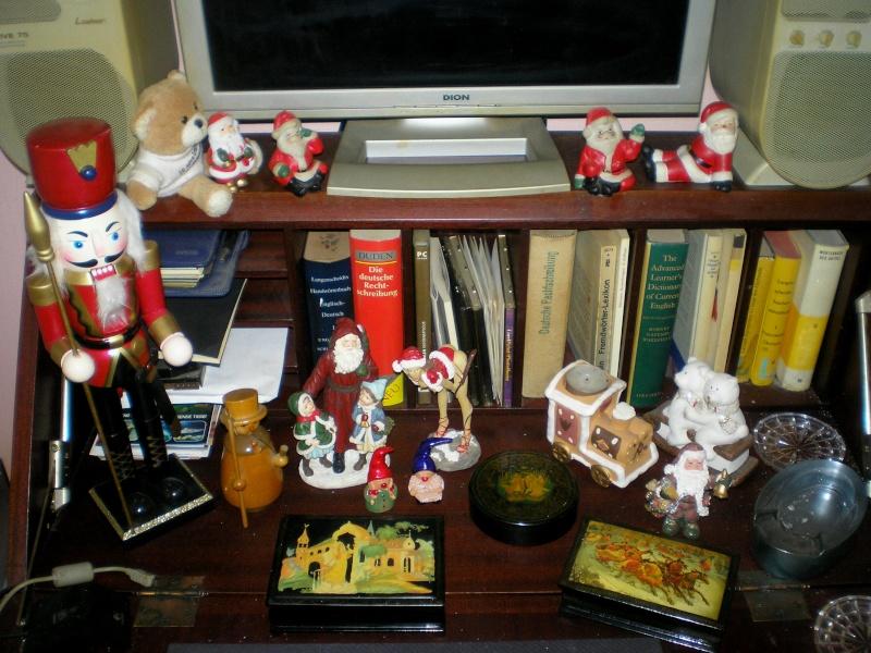 Figuren zur Weihnachtsdekoration - meine Sammlung, Restaurierungen & Bemalungen 20151215