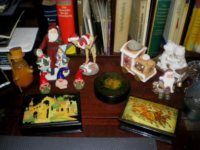 Figuren zur Weihnachtsdekoration - meine Sammlung, Restaurierungen & Bemalungen 20151217