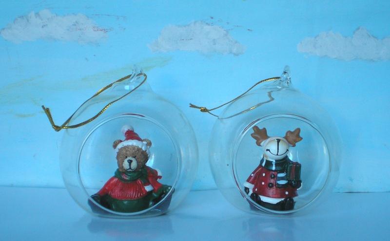 Figuren zur Weihnachtsdekoration - meine Sammlung, Restaurierungen & Bemalungen Glasku10