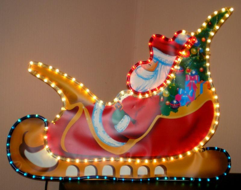 Figuren zur Weihnachtsdekoration - meine Sammlung, Restaurierungen & Bemalungen Leucht10