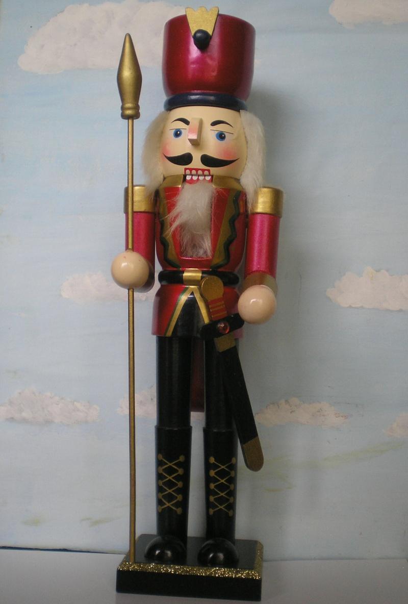 Figuren zur Weihnachtsdekoration - meine Sammlung, Restaurierungen & Bemalungen Nusskn11