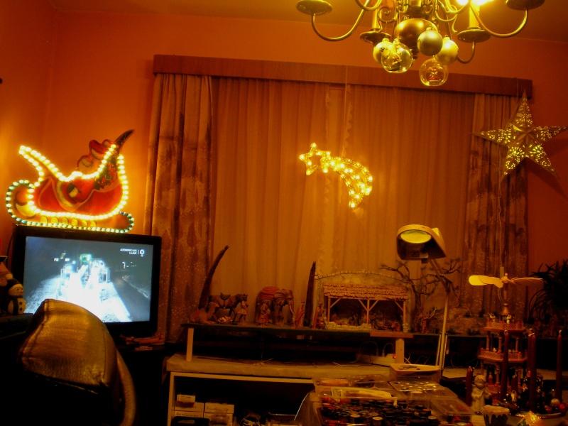 Figuren zur Weihnachtsdekoration - meine Sammlung, Restaurierungen & Bemalungen Pb270010