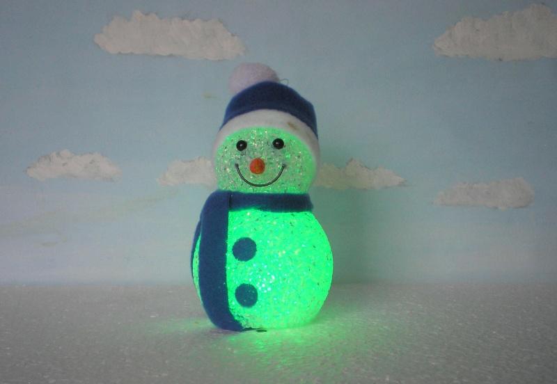 Figuren zur Weihnachtsdekoration - meine Sammlung, Restaurierungen & Bemalungen Schnee16