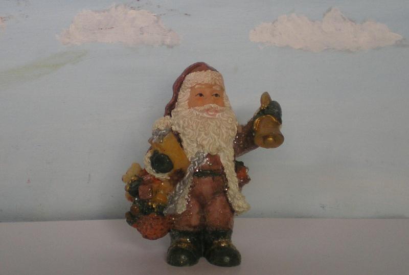 Figuren zur Weihnachtsdekoration - meine Sammlung, Restaurierungen & Bemalungen Weihna25