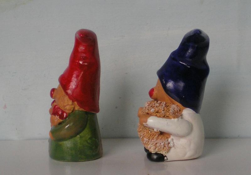 Figuren zur Weihnachtsdekoration - meine Sammlung, Restaurierungen & Bemalungen Wichte11