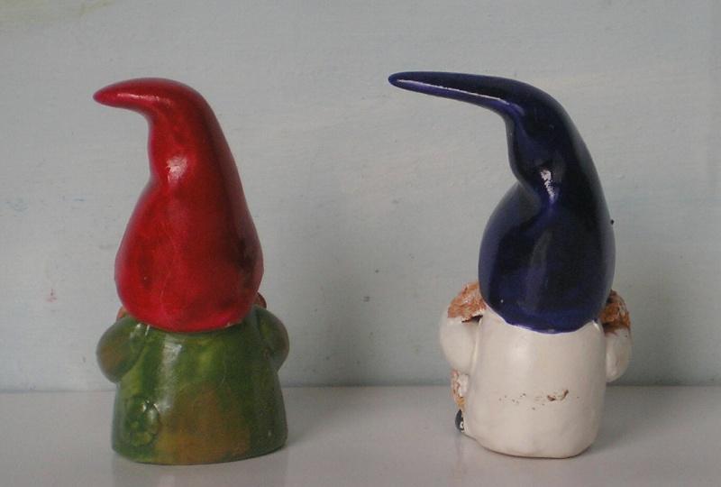 Figuren zur Weihnachtsdekoration - meine Sammlung, Restaurierungen & Bemalungen Wichte15