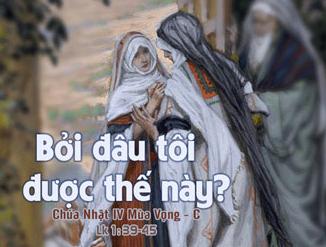Chúa Nhật IV Mùa Vọng Năm C Suy Niệm Lời Chúa (20.12.2015) Cn-4-m10
