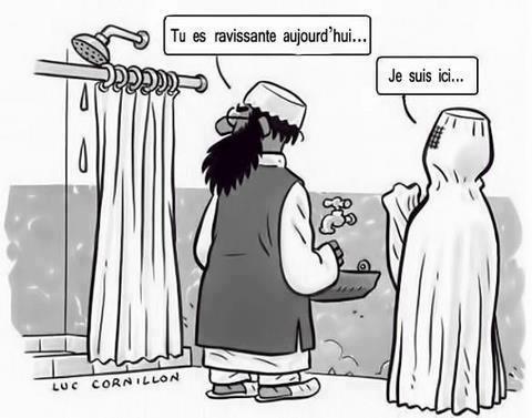 DESSINS  HUMORISTIQUES   (pas de photos) - Page 6 Burka10