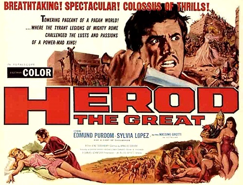 HERODES - BLUT ÜBER JERUSALEM (ITA/FRA 1958) Herode10