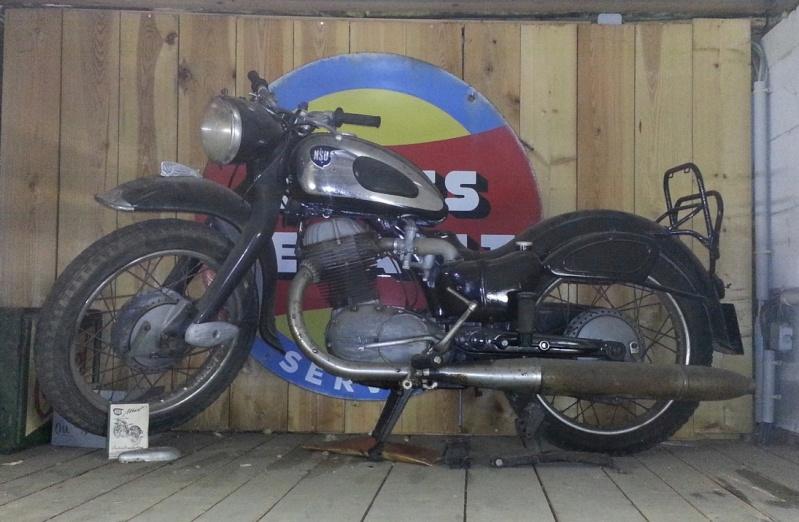 NSU 250 max spezial 1955: restauration. Nsu_510