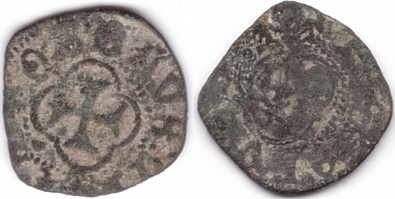 Denier Tournois Charles VII ou VIII A1r111