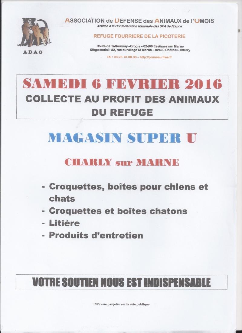 OPERATION CADDIES SAMEDI 6 FEVRIER 2016 SUPER U CHARLY Super_10