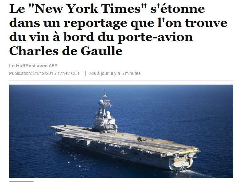 [ Porte-Avions Nucléaire ] Charles de Gaulle Tome 2 - Page 38 Cdg10