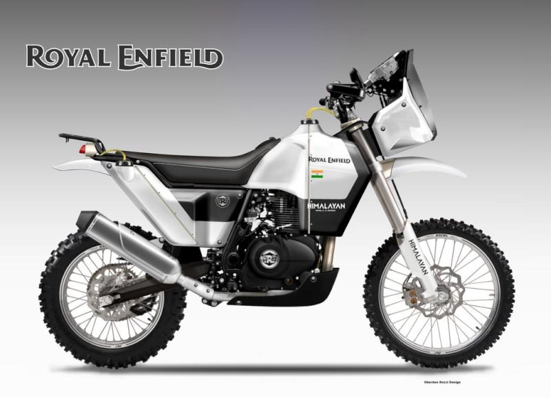Voici la Royal Enfield Himalayan.... Royal210