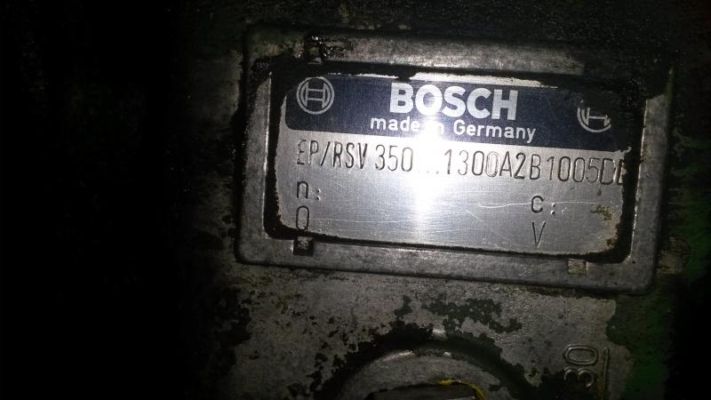 REF Pompe  et moteur Om 352 20151217
