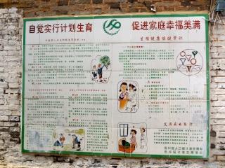 Avril 2015 en Chine (7) : le marché aux oiseaux, l'Islam en Chine, le problème démographique 人口问题 Contry10