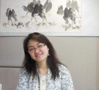 Ping Fan, une  entrepreneure chinoise en France (Grenoble), cofondatrice de «ÉLÉGASIA» Dscn0610