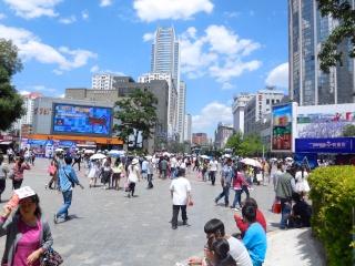 Avril 2015 en Chine (7) : le marché aux oiseaux, l'Islam en Chine, le problème démographique 人口问题 Fouled10