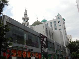 Avril 2015 en Chine (7) : le marché aux oiseaux, l'Islam en Chine, le problème démographique 人口问题 Mosquy10