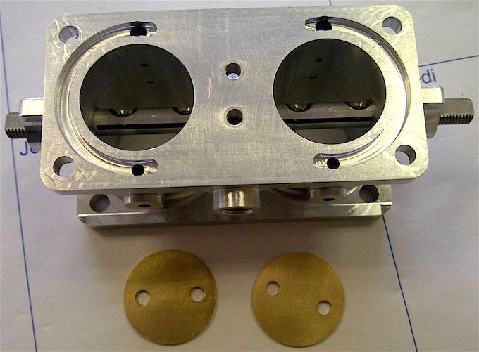 Refabrication de corps de carbu 601 solex 26 /30 FFVS  + couvercle + cuve Carbu_12
