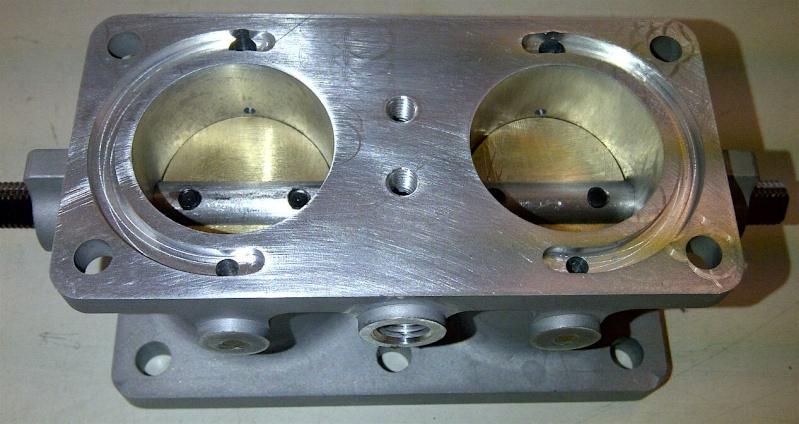 Refabrication de corps de carbu 601 solex 26 /30 FFVS  + couvercle + cuve Carbu_13