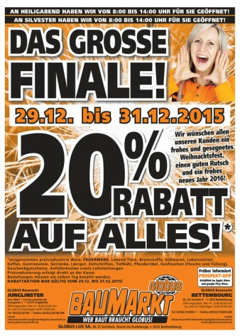20 % de remises chez Baumarkt ! Attach10