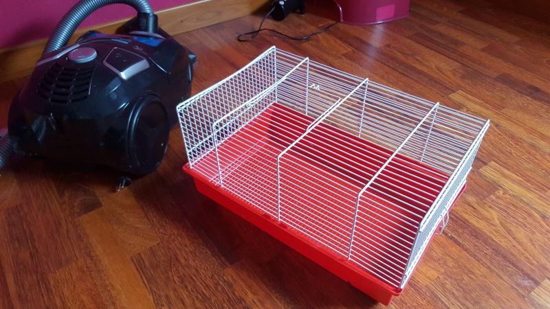 Vend Cage Royale + Accessoires + autres petites cages dans le 77 20160118