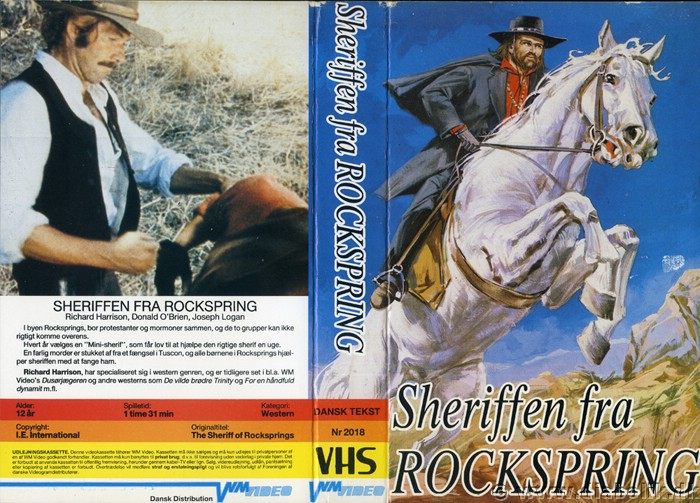 Le shérif de Rockspring ( Lo Scheriffo di Rockspring ) –1971- Mario SABATINI Scerif10